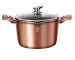 GARNEK GRANITOWY DO MAKARONU 24cm BERLINGERHAUS ROSE GOLD BH-1520